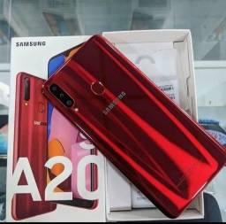 Samsung a20s +smartwatch p8