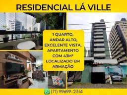 Apartamento em Armação, ResidencialLa Ville em 43m² com 1 vaga de garagem - Imperdível