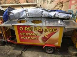 Vende-se carrinho de hot dog