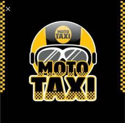 Sou moto táxi e moto frete