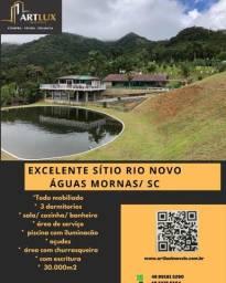 Sitio Rio Novo - Águas Mornas - SC