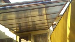 Toldos telhado de policarbonato