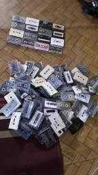Lote Fitas Cassetes usadas Ítem de colecionador