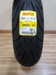 Pneu Pirelli Angel ST - 160/60-17 - XJ6/CB500F/CB500X - Novo - Pronta entrega