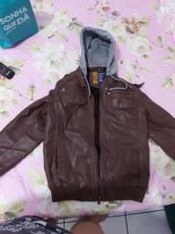 Vende-se casaco de couro