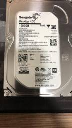 HD Seagate HDD 1000Gb (1Tb) Modelo ST 1000DM003
