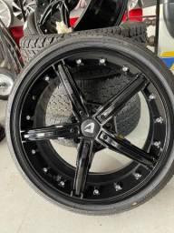 Rodas aro 18 novas com pneus