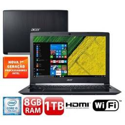 Notebook Acer Aspire 5 A515-51-51<br>Intel Core i5 7° 8GB, 1TB
