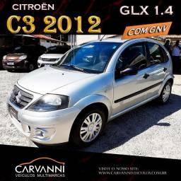 Título do anúncio: Citroën C3 GLX 1.4 2012 Completo