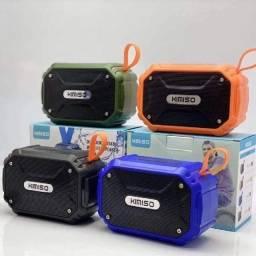 Caixa De Som Bluetooth Portátil Kimiso Kms-112 cor-Laranja
