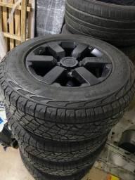 Jogo de rodas/pneu troller original 0km