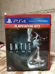 Jogo PlayStation 4 - Until Dawn - mídia física
