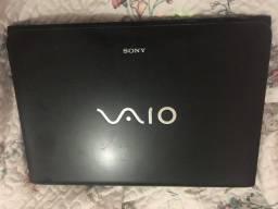 Notebook Sony Vaio i3 4gb 64bits