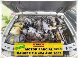 Motor Parcial Ford Ranger Diesel 2.8 Ano 2003