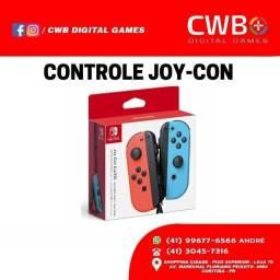 Controle Nintendo Switch Joy-Con. Novo lacrado e com garantia. Loja Física