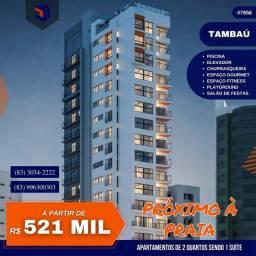 Título do anúncio: Apartamento para Venda em João Pessoa, Tambaú, 2 dormitórios, 1 suíte, 1 banheiro, 1 vaga