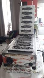 Vendo máquina de crepe industrial semi nova