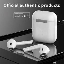 Fone de ouvido bluetooth i12 c sensor