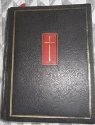 Bíblia Sagrada Edição Papal Ano 1974 Item de Colecionador