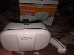 Oculos 3d Vr Realidade Virtual Omni Vista Fantasia C/remoto