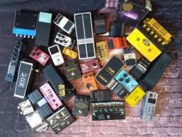 Pedais de Guitarra à venda.