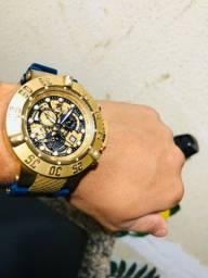 Vendo Relógio invicta 1linha top em ótimo estado 450,00
