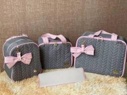 Kit Bolsa Maternidade Luxo Termicas
