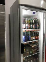 Expositor de bebidas vertical