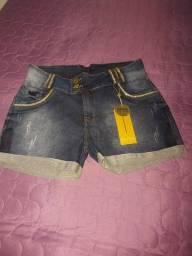 Bermuda Jeans em Laycra 48 Nova