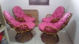 Cadeira de area haatan (Bambú)