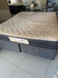 Excelente Cama box Queen size Ortobom / plumatex