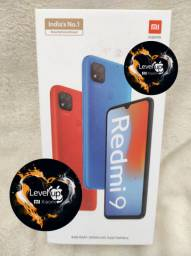Maravilha 2021! Redmi 9 64GB 4 GB RAM da Xiaomi.. Novo LACRADO Garantia entrega em mãos!
