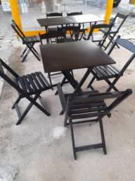 3 jogos de mesa com 12 cadeiras