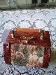 Bolsa de mao vintage -linda para festas tematicas