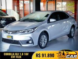 Toyota Corolla GLi 1.8 Flex 16V  Aut. 2019 Flex