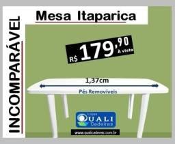 mesa plástica 137 x80