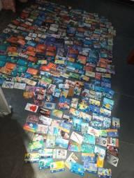 373 cartões telefônicos