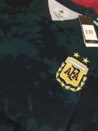 Título do anúncio: Camisa Argentina azul 21/22