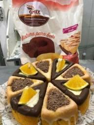 Trabalho com pão de hambúrguer de hot dog
