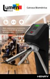 Catraca 8x com biometria semi nova