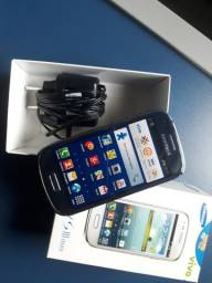 Samsung Galaxy sIII mini 8gb 3g seminovo somente pra operadora vivo