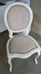 Cadeira estilo provençal madeira maciça