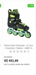 Patins OXer Freestyle Abec 9
