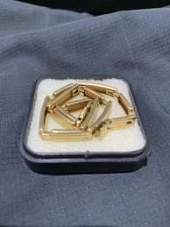 Pulseira de ouro ouro 18k modelo italiana