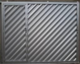 Portões de alumínio Aparti  valor$ 2,500.00