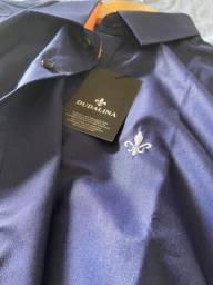 Camisa Social Azul Marinho Dudalina