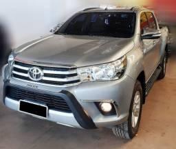 Toyota Hilux SRV 2017 4x4 Diesel, Liberada Prata