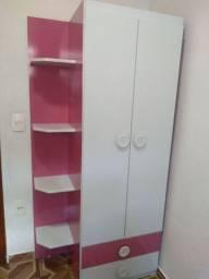 Cômoda+guarda-roupa+berço+colchão