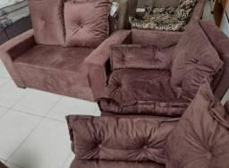 Vendo sofá e 2 poltronas