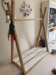Tenda de madeira